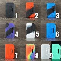 Skyddsilikon Texturväska för Geekvape L200 Aegis Legend 2 Box Mod Vape Skin Sleeve Cover Retail PacAkge DHL Gratis