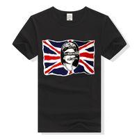 T-shirt del nucleo duro della pistola del sesso britannico Pistols