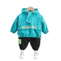 Children Tracksuits Autumn Baby Girl Clothes Boys Casual Hoodies Pants 2Pcs Set Toddler Fashion Costume Infant Kids Clothing Sets