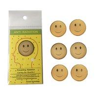 Cell Phone Anti Radiation Gadgets 24K Sticker Accessories Smile Anti-radiation