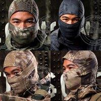 Acessórios ao ar livre face completa máscara militar ciclismo Airsoft ski capô de secagem rápida novo acessórios de caça 430 x2