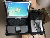 Outils de diagnostic Super MB Star C5 SD Connectez-vous avec un ordinateur portable CF19 Toughbook CF-19 PC Software 2021.3 HDD pour