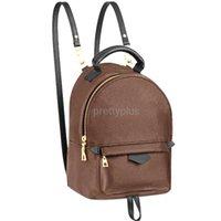 Мини рюкзак леди натуральная кожа дизайнер рюкзаки моды задний пакет Обледённые женские сумки пресбиоп Мини плеча кошелек крест сумка