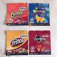 Медиамные нанесенные Sanck Mylar Bag Новые 500 мг Emtpy Запада Доказательство Видимость Доритос Cheetos Fritos Szipper Упаковочные пакеты