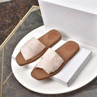 2021 Womens Sandals Luxurys Дизайнеры Обувь Тапочки Платформа Квартиры Рим Сандалии Женщины Модный Дизайнер Плоские скольжения Флип Шлепания Тапочка Сандалия
