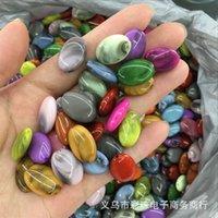 Nuovo 10 pz di perline acriliche orecchini accessori accessori perline per gioielli rendendo i risultati dei monili fai da te 1966 Q2