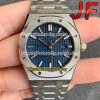 Eternity JFF Senhoras Relógios 646510 Top Versão 33mm Sport Blue Dial Swiss Quartz Movement 77350 Womens Watch 316L Caso de Aço Inoxidável Pulseira
