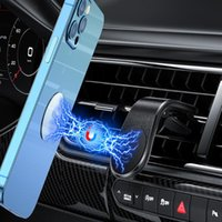 Cell Phone Mounts & Holders Strong Magnetic Air Outlet Car Holder Magnet Mount Mobile Stand Widely Compatible With Phoes And Tablets