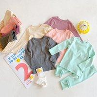 Clothing Sets Kids Set T Shirt Top+ Pants Spring Autumn Toddler Boys Girls Clothes Sleepwear Baby Pajamas Children