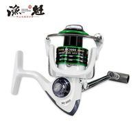Baitcasting بكرات Yukui HC Series 5.2: 1 عالية السرعة بكرة الصيد بكرة السوبر قوي الكارب تغذية الغزل عجلة نوع