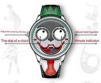 Los mejores relojes deportivos de moda militares de lujo relojes de payaso para hombres mira los relojes casuales de los hombres