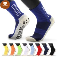 Uss stock Men's Anti Slip Football Socks Athletic Long Socks Absorbent Sports Grip Socks For Basketball Soccer Volleyball Running FY7610CT05