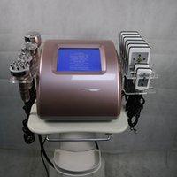 Neue Produkt Kavitation Ultraschall Fettreduziermaschine Radiofrequenz RF Haut Anziehen Lipolaser Abnehmen Vakuummassagevorrichtung