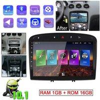 Android 10.1 سيارة مشغل الوسائط المتعددة ستيريو راديو دي في دي GPS الملاحة رئيس وحدة wifi لمدة 308 408 2010-2021 2 الدين الملحقات