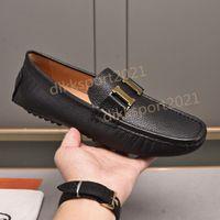 Hommes plats décontracté robe chaussures boucle en métal boucle véritable mulhasse de la mode mocassins de mode haute qualité hommes d'affaires formels hommes