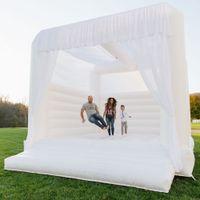 Personalizado 2021 Adultos Ao Ar Livre New-Projetados Branco Inflável Jumper Jumper Bounce Casa Bouncy Jumping Castle