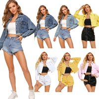 2020 Jackets For Women Fashion Clothing Autumn And Winter The New Listing Jacket Denim Jacket Long Sleeve