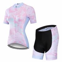 Les costumes de vélo de vélo à manches courtes 2021 pour femmes
