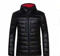 Homens de jaqueta para baixo Enviar para a marca casual livre à prova de vento para baixo jaqueta de inverno casaco quente homens s pato ultralight masculino parka