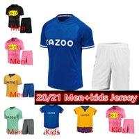 2021 James Rodriguez Soccer Jersey Richarlison Calvert Lewin Football Shirts الرجال Kids Kits 20 21 حارس المرمى روبن أولسن الفانيلة