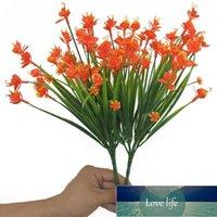 1 بانش 21 رؤساء الزهور الاصطناعية مع ورقة diy الزفاف ديكور محاكاة phalaenopsis زهرة عيد الحب المنزل الديكور 1
