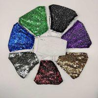 Cotton Lace Pure Belt Filter Cloth Fashion Men and Women's Colorful Sequin Mask 2i3m K6QW