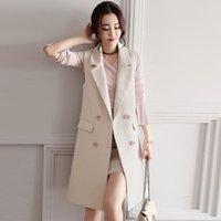 Gilet da donna KMETRAM Giacca di molla Giacca da primavera Donne vestiti 2021 Streetwear Coreano Cappotti e Giacche Coreano Chalecos Para My2768