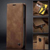 المزيد من الألوان فون حالة السكالة الرجعية فليب حامل محفظة جلدية حامل بطاقة غطاء الهاتف ل غالاكسي S8 S9 S10 A40