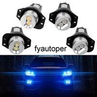 Auto Fog Lamp Error Free Car Lamps 2pcs LED Angel Eyes Marker Light Bulbs Decorative Lights for BMW E90 E91 900lm