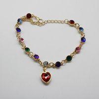 Cuff Fashion Bridal Charm Pendant Bracelet For Girls And Women Jewelry Lnlaid Rhinestone Love Bracelets & Bangles Gift