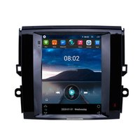 Car dvd Stereo 2-Din android Autoradio Tesla 1 for 2013 Toyota Reiz Vertical Multimedia-Player