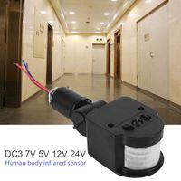 Smart Home Control Wall Lamp Light Switch Outdoor LED Security Infrared PIR Motion Sensor Detector Floodlight Solar Spotlight