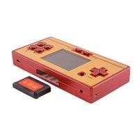 Портативные игроки игроков Цвет GB Boy RS-20 Pocket Детская портативная консоль, построенная в 600 играх