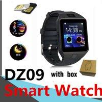 DZ09 Smart Watch Smart Bluetooth Bluetooth IP67 Santé Sport Passomètre Sim Intelligent pour Android Montres de téléphone mobile Montres Sommeil Surveillance du sommeil Fitness Tracker V8 GT08 U8