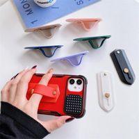 Teléfono celular soportes Soporte de soporte de bolsillo Popped Universal Soporte de soporte para anillo de dedo Soporte de correa de correa de agarre TOK Soporte Teléfono ACCE