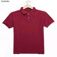 망 폴로 작은 말 가을 긴 소매 티셔츠 남성 폴로 셔츠 95 % 코튼 소재 긴 소매 티 - 셔츠 폴로스 뜨거운