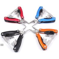 Outdoor Multitool Pliers Serrated Knife Jaw Hand Tools+Screwdriver+Pliers+Knife Multitool Knife Set Survival Gear HHD6472