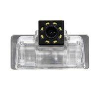 Vue arrière de la voiture Caméras Senseurs de stationnement HD 720P Caméra Retour de sauvegarde arrière arrière imperméable à Teana Tiida Blue Bird Sylphy G11