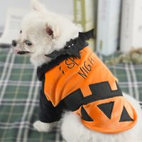 Dog Apparel Halloween Funny Bat Puppy Coat Jackets Small Dogs Outfits Hoodie Sweatshirts Costumes Winter Fall Cosplay Clothes Pet Supplies