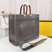 Hot luxurys designers handbags shoulder bag high quality shopping bag leather material amber double handle large capacity letter shoulder