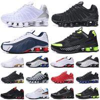 nike shox tl R4 TL 남자 신발을 실행 배 검은 색 흰색 검은 색 회색 클레이 오렌지 선 라이즈 속도 빨간색 망 트레이너 야외 스포츠 운동화 여자