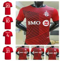 2021 2022 Newest Toronto FC Soccer Jerseys Home Kit 22 22 Camisetas Bradley Altidore Pozuelo Akinola Osorio P. Piatti Camisetas de fútbol Uniforme