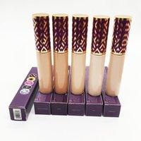 Em estoque fita fita fundação face face maquiagem creme corretos contornos 5 cores 10ml luz média de areia da luz
