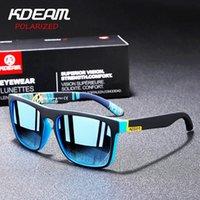 Sonnenbrille Kdeam Original Design Polarisiert für Männer und Frauen UV-Block Nacht Fahren Gläser Pochromic Vision Objektiv M9