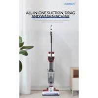 Vacuum Cleaners Airbot IClean Vaccum Cleaner Intelligent Floor Washing Machine Wireless Cleaning Dust Suction And Mopping Original Robot