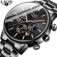 Saatı Relojes 2021 İzle Erkekler Lige Moda Spor Kuvars Saat Erkek Saatler Top Business Su Geçirmez Relogio Masculino