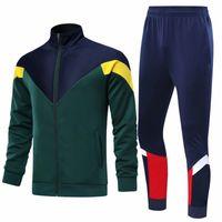 Jerseys de fútbol de fútbol de manga larga para adultos conjuntos de fútbol de fútbol para hombres Trajes de entrenamiento de Futbol