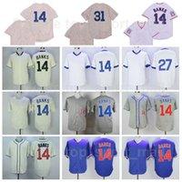 Retro 1929 1968 1969 1988 1990 1994 Vintage Baseball 14 Ernie Banken Jersey 27 Addison Russell 31 Maddux Cooperstown Alle genähten coolen Basis