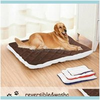 Supplies Home Gardentwo Sides Plush Pet Mat Soft Warm Dog Cat Bed Kennel Puppy Sleeping Beds For Small Medium Large Dogs Blanket Kennels & P