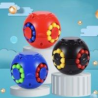 DHL 매직 퍼즐 공 Fidget 큐브 감압 장난감 번들 스트레스 콩 성인을위한 안티 불안 릴리프 EDC